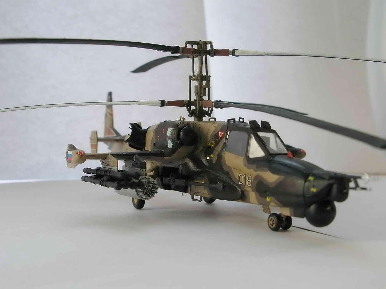 Amazon.com: ZVEZDA 7272 P Mil Mi-28 Havoc – Cazador nocturno ...