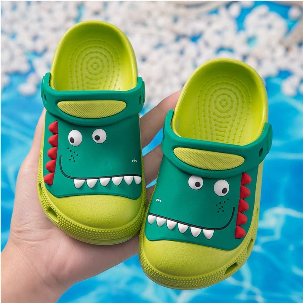 Plzensen Kids Cute Garden Shoes,Boys Girls Slide Sandals Clogs Slip On Lightweight Beach Pool Sandals