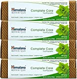 Himalaya Complete Care Toothpaste - Simply Peppermint 5.29 oz/150 gm (4 Pack) Natural, Flouride-Free & SLS Free