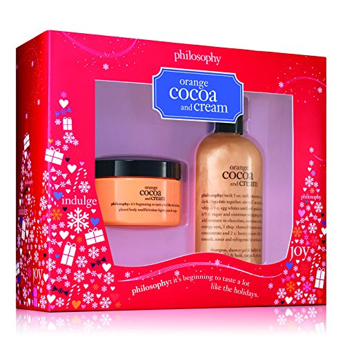 Philosophy Orange Cocoa and Cream Duo, Shampoo/Shower Gel/Bubble Bath, Glazed Body Cream, 4oz/8oz Review