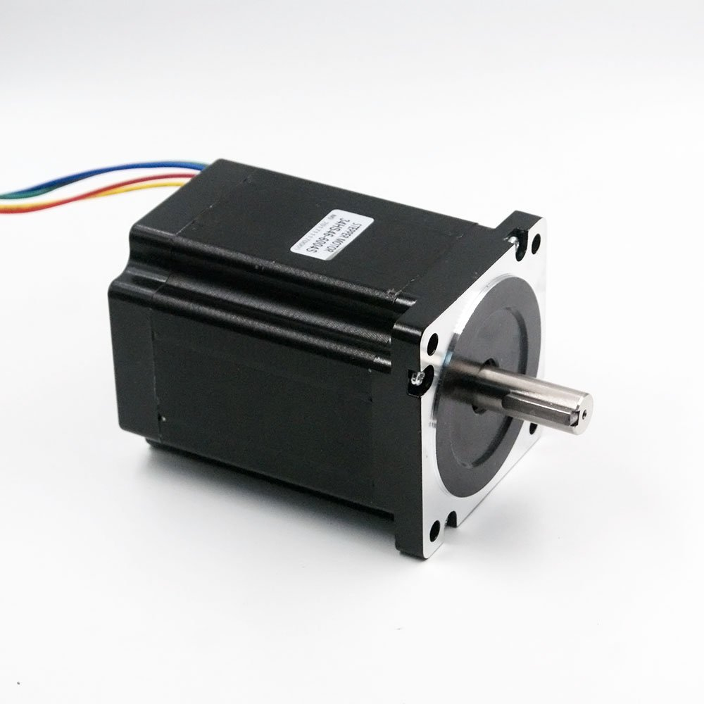Nema 34 Stepper Motor 6A 8.5Nm (1200 oz-in) 118mm Length for CNC Router Mill Lathe