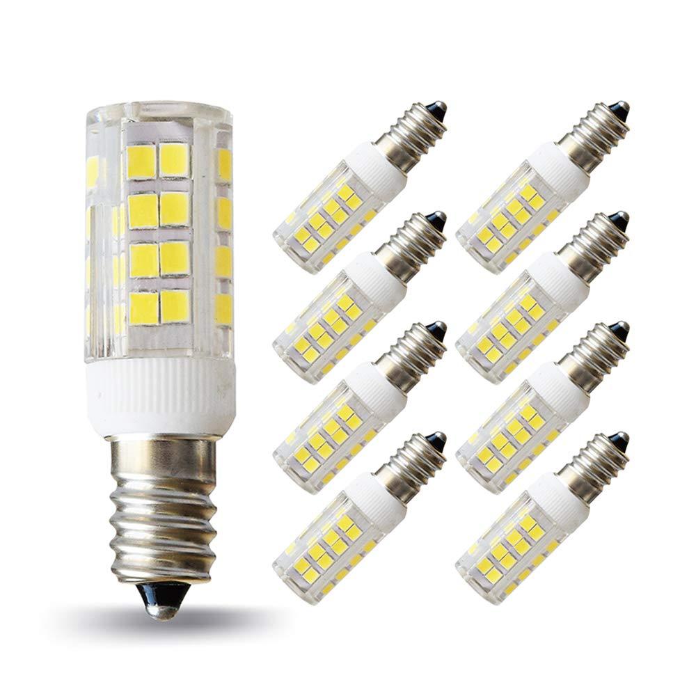LAMPAOUS - Bombillas LED SES E14 de 5 W para lámpara de ...