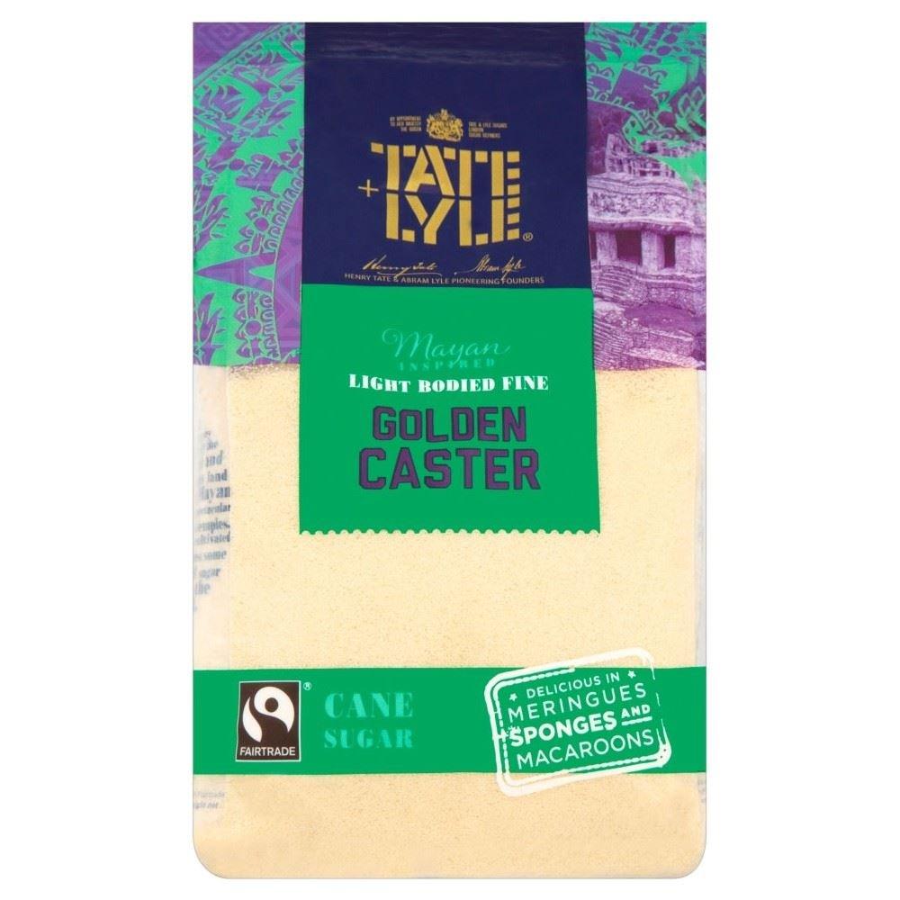 Tate & Lyle Fairtrade Golden Caster Sugar (700g)