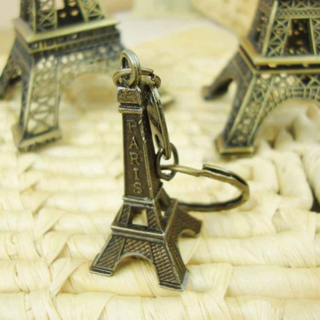 meisijia Tour Souvenir Vintage Tour Eiffel Paris France Souvenir Métal Modèle 5cm (avec porte-clés)