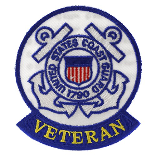US Coast Guard Veteran Patch Military Gifts Patches for Jackets Hats Vests
