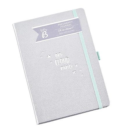Diario de embarazo Baby B - color plata, empieza a las 8 ...