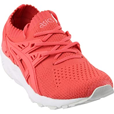 3c4aedb87e27a ASICS Gel Kayano Trainer Knit Womens in Peach/Peach by