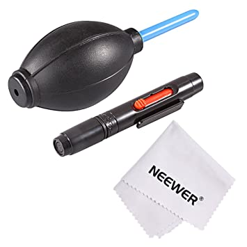 Neewer® Kit de limpieza profesional de 3 piezas para cámaras ...