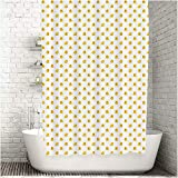 Traveling Twins Luxury Shower Curtain Liner - Rubber Duckies (100% Polyester Fabric) - 72 x 70 Inches