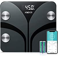 Body Fat Scale, Weighing Digital Body Fat Scale with 13 Essential Health Measurements, BMI, Body Fat, Muscle, Bone Mass, Body Composition Analyzer with Smart Phone App, 28st/180kg/400lb