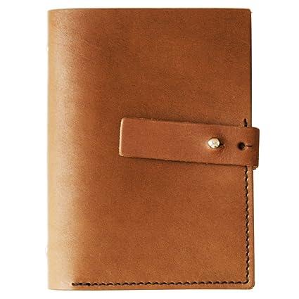 Makro Paper S5 - Agenda de piel pequeña, marrón claro