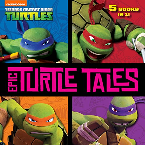 Amazon.com: Epic Turtle Tales (Teenage Mutant Ninja Turtles ...