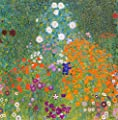 bauerngarten_I By Gustav Klimt. 100% Hand Painted. Oil On Canvas. Reproduction. (Unframed and Unstretched).