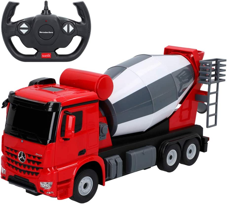 Rastar - Camión RC mercedes Benz Arocs Hormigonera (46366)