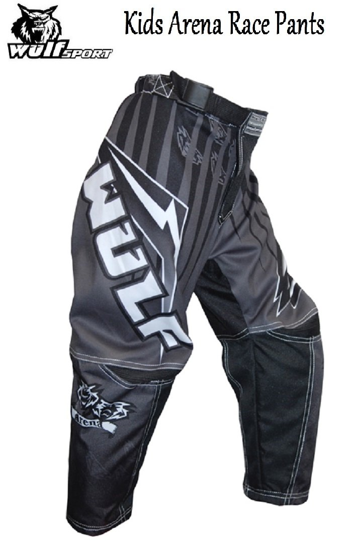 Waist 26, RED WULFSPORT NEW 2016 KIDS ARENA PANT Motocross Quad MX Pit Sport Junior Trouser Pant