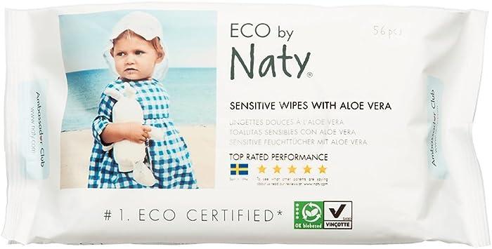 bio, FSC NATY Eco Feuchtt/ücher sensitive leicht duftend 56 St/ück