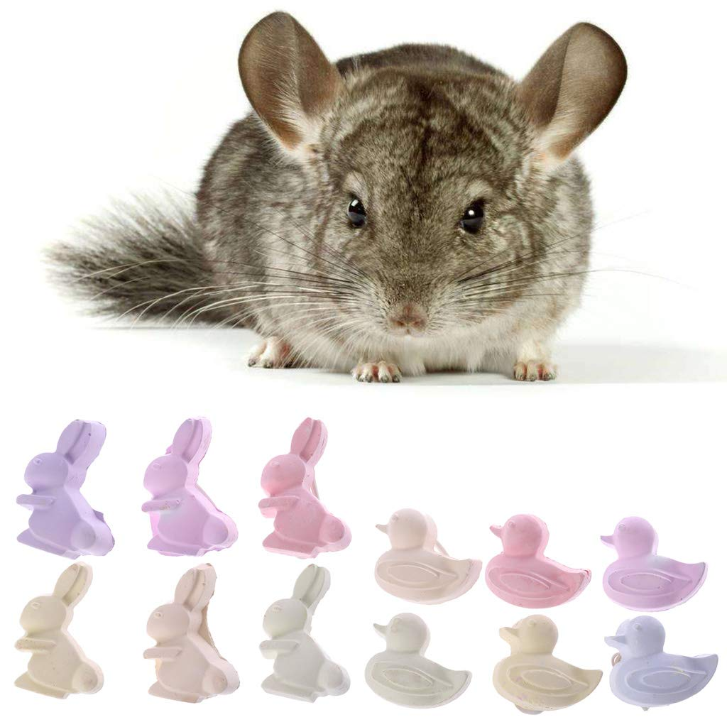 Yanhonin 1pc Pet Teeth Grinding Toys Hamster Mineral Molar Tooth Care