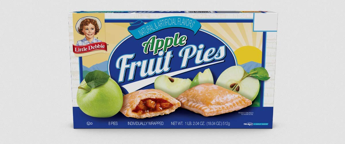 Little Debbie Snack Cakes 2 Regular Size Boxes (Apple Pies)