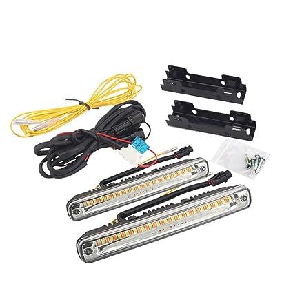 C-FUNN 36 Luces De Conducción Diurnas De Doble Color Led para ...