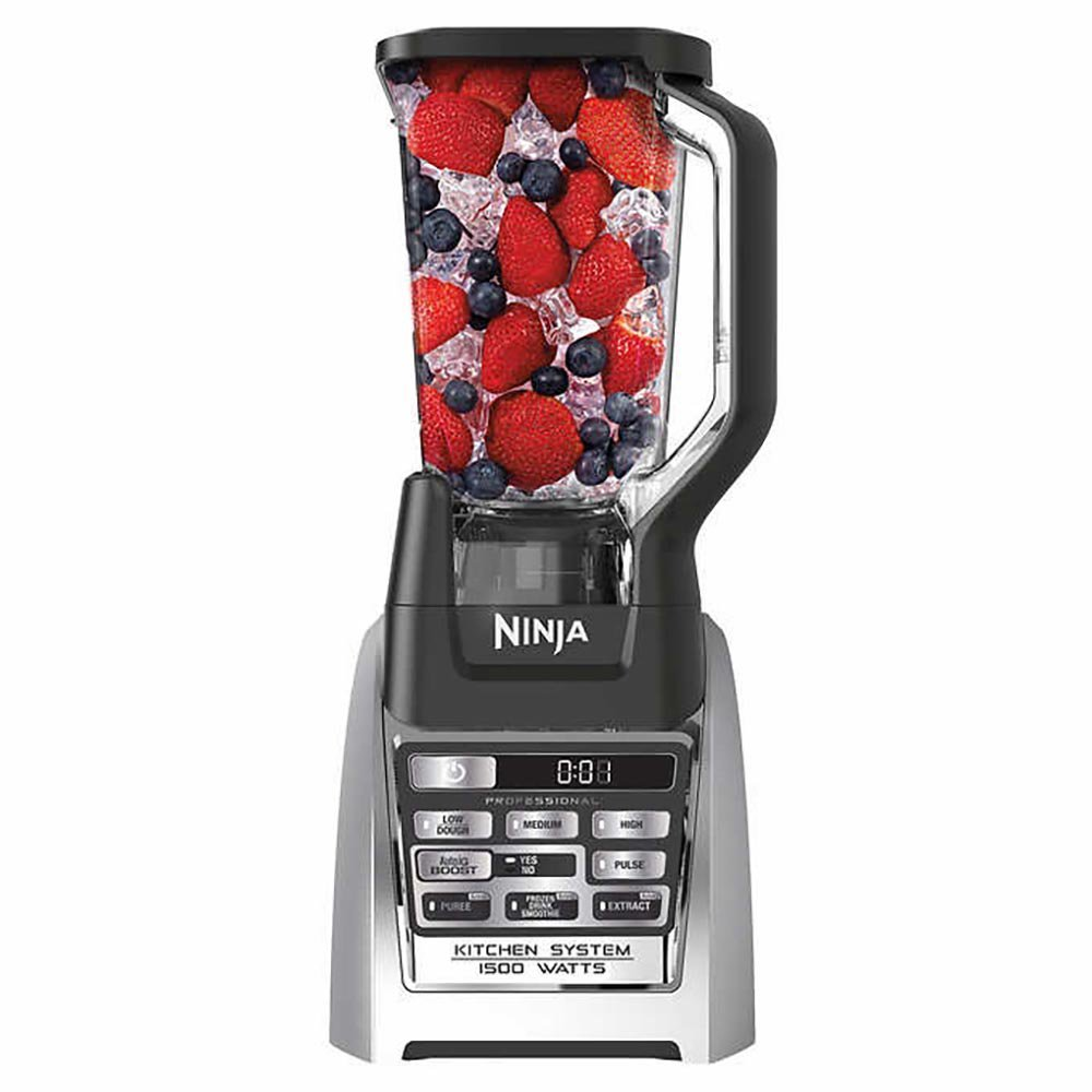 SharkNinja BL687C0 Ninja Auto-iQ Blender, under under counter high, stainless