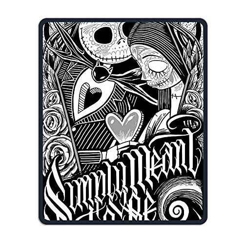 Mouse Pad Galaxy Rectangle Non-Slip Rubber Mousepad Skeleton Love Halloween Print Gaming Mouse (Skeleton Print Out Halloween)