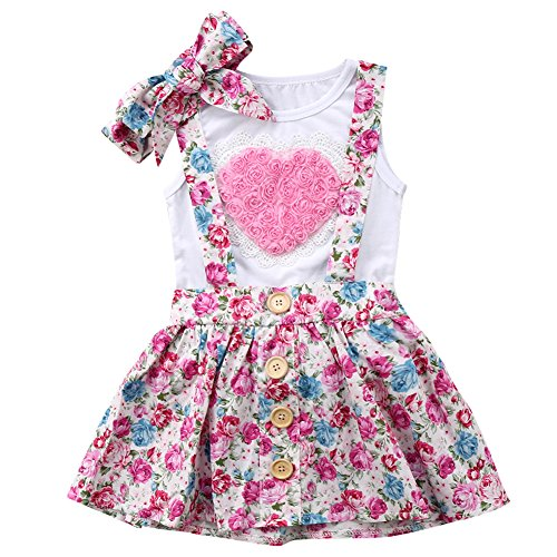 Clothing Sets Delicious Baby Girl Clothes Set Summer Kids 3pcs Casual Doll Collar Dress Briefs Bag Strong Resistance To Heat And Hard Wearing