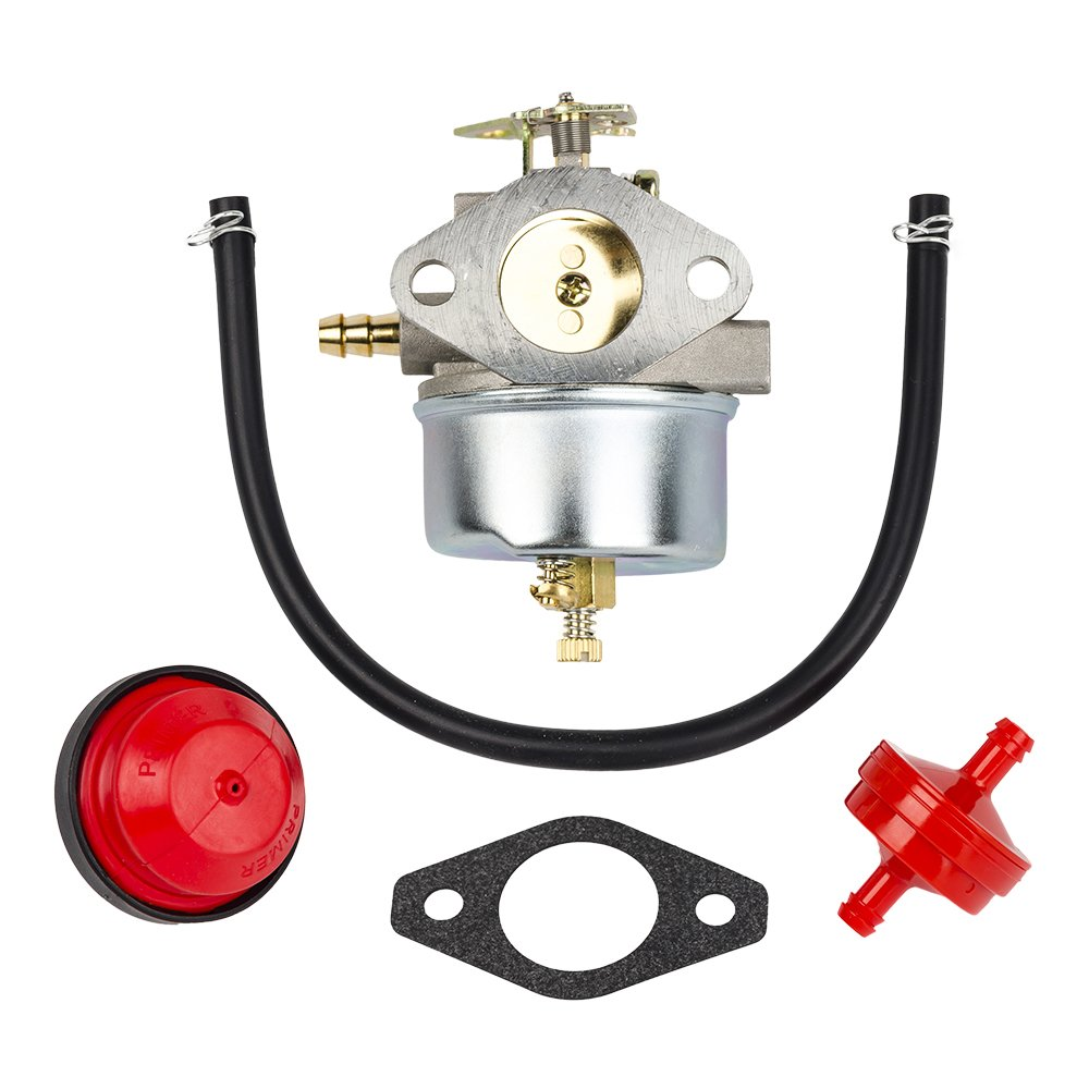 Amazon.com : HIFROM Carburetor Carb with Mounting Gasket Fuel Line Fuel  Filter for John Deere Snow Blower Thrower TRS22 TRS24 TRS26 TRS27 TRS32 Snow  Blower ...