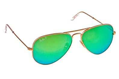 polarized mirrored aviator sunglasses 28wk  Ray-Ban RB3025 Polarized Mirror Aviator Sunglasses