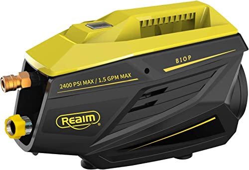 Realm 2400 PSI 1.5GPM Electric Pressure Washer