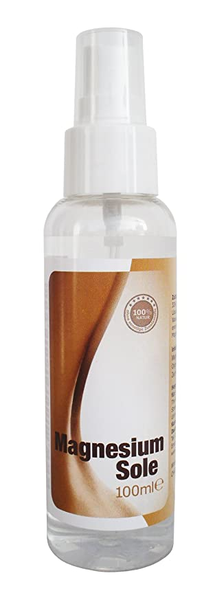 Magnesio Sole – Magnesio de cloruro aceite – Original natursole de ZECH piedra Mar (100