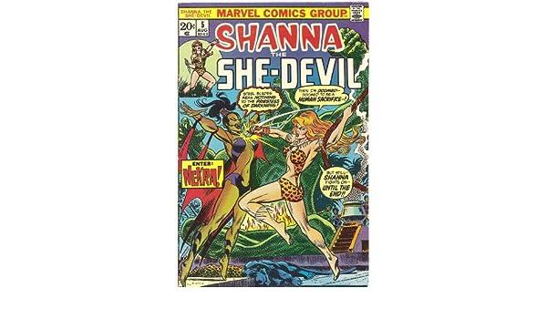 Amazon.com : Shanna, The She-Devil #5 (Where Nekra Walks ...