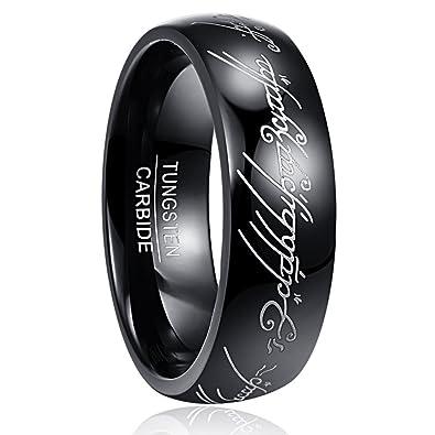 Nuncad Ring Herren Damen The Lord Of The Ring Wolfram Unisex Ring