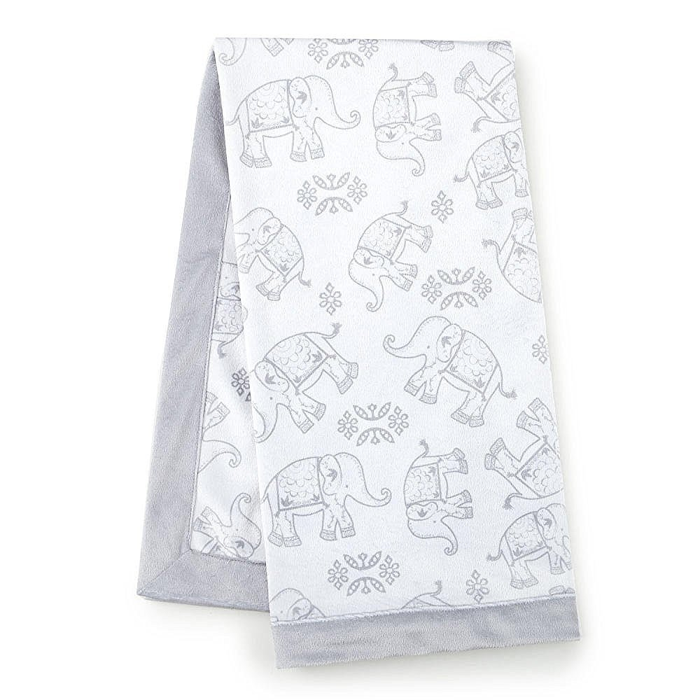 Levtex Home Baby Ely Blanket, Grey