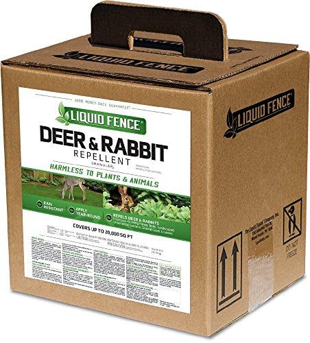 Liquid Fence HG-70769 Deer & Rabbit Granules Repellent, 40 lb by Liquid Fence