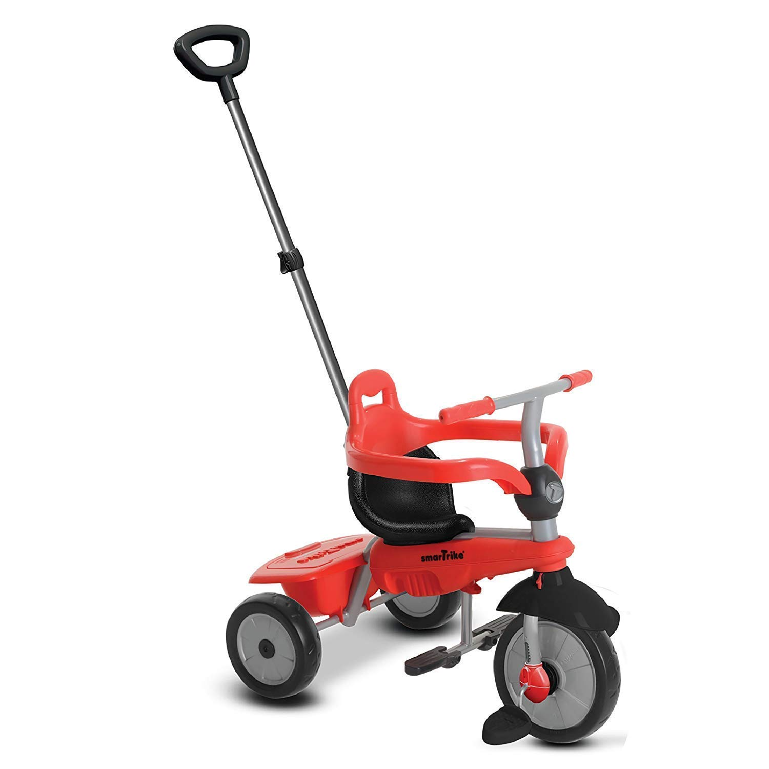 smarTrike Breeze Baby Tricycle, Red (Renewed)