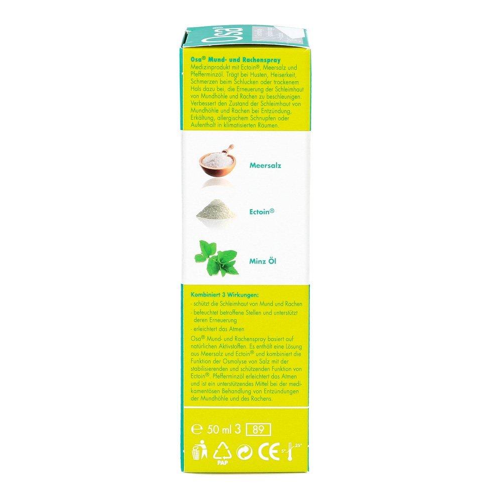 OSA Mund & Rachen Spray 50 ml Spray: Amazon.de: Drogerie & Körperpflege