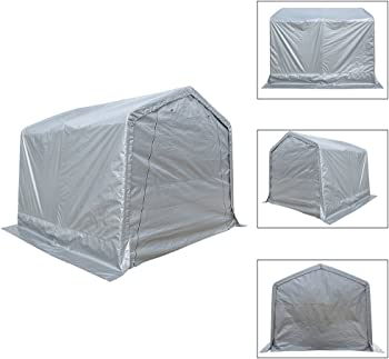 KdGarden 10 x 10 ft. Portable Outdoor Storage Shelter