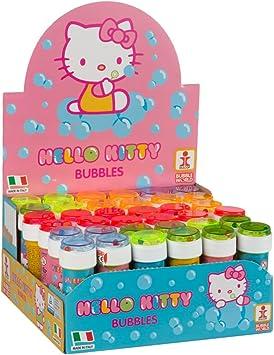 ColorBaby - Caja pomperos Hello Kitty con 36 Unidades de 60 ml (22987): Amazon.es: Juguetes y juegos