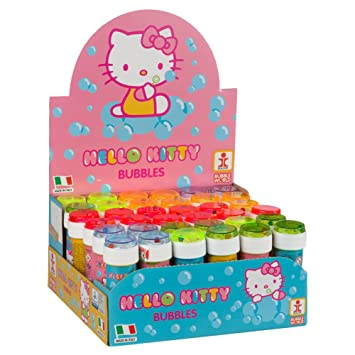 COLORBABY - Caja pomperos Hello Kitty con 36 Unidades de 60 ml (22987)