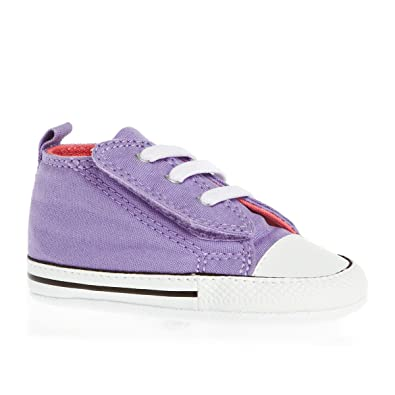 Converse Baby Chucks 842897C FS Easy Slip Hi Tex First Star Lavender Glow Violett