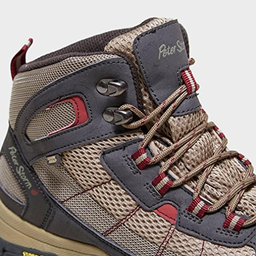 Peter Storm Womens Filey Walking Boot Calzado Para Calzado Para Exteriores Grey, Gris, 37