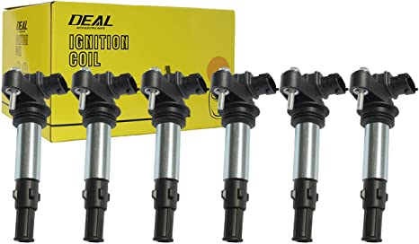 DEAL Set of 1 New Ignition Coil For Buick Allure//LaCrosse//Rendezvous//Enclave Chevy Traverse//Vectra GMC Acadia Saturn Outlook Saab 9-3 Cadillac SRX//CTS//STS 2.8L 3.6L V6 Replacement# D501C C1508 C1645