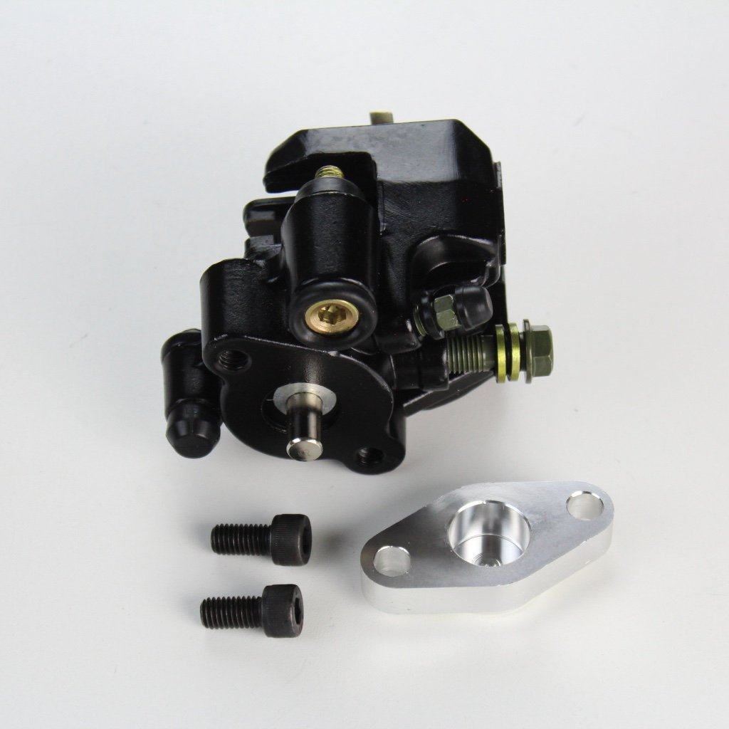 Yamaha Warrior 350 Rear Brake Caliper Assembly with Pads 1987-2004 by NICHE (Image #3)