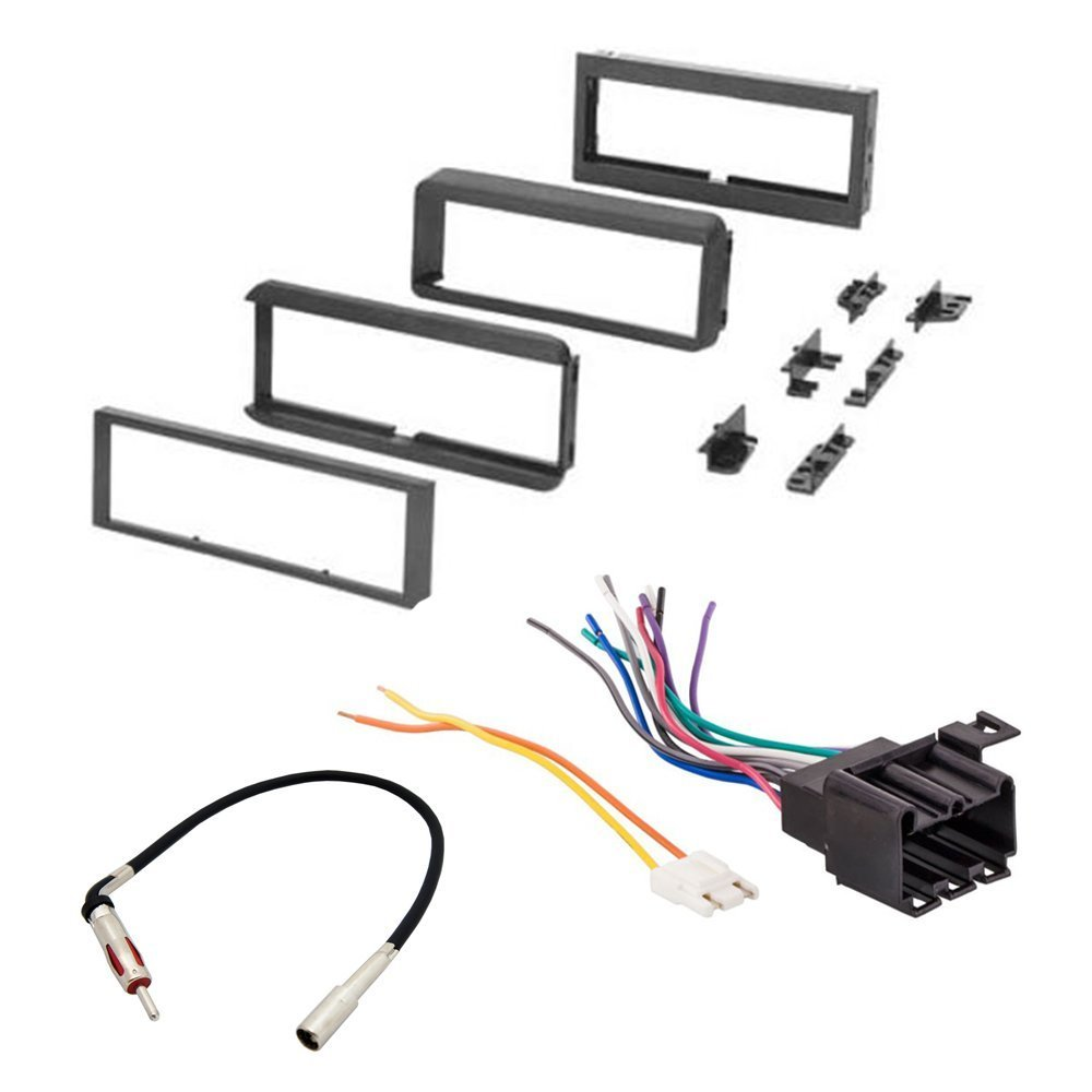 Amazon.com: OLDSMOBILE 1984 - 1988 CUTLASS SUPREME CAR STEREO RADIO CD  PLAYER RECEIVER INSTALL MOUNTING KIT RADIO ANTENNA: Car Electronics