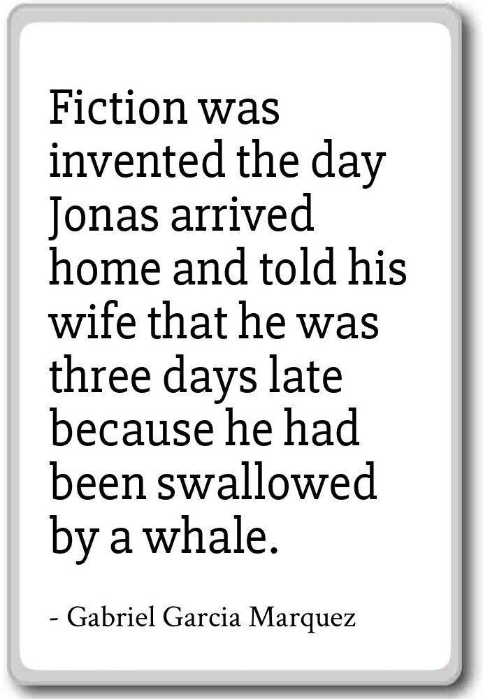 Amazoncom Fiction Was Invented The Day Jonas A