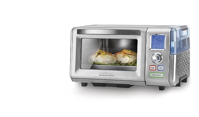 史低价!Cuisinart 蒸烤二合一不锈钢对流烤箱+蒸锅