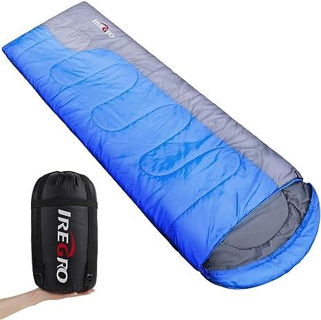Envelope Mummy Outdoor Lightweight Portable Waterproof UK Camping Sleeping Bag