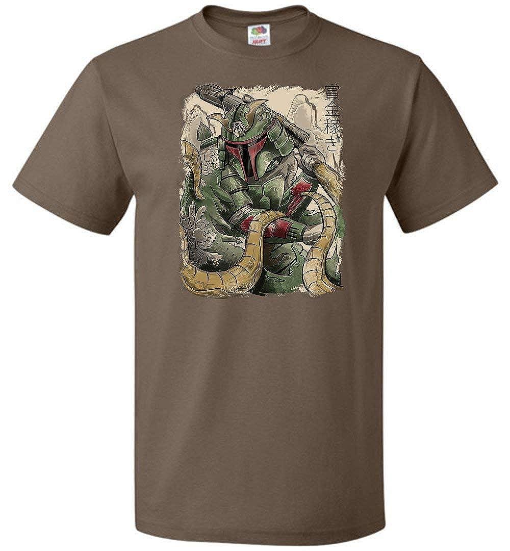 Samurai Hunter Unisex T-Shirt Adult Pop Culture Graphic Nerdy Geeky Apparel
