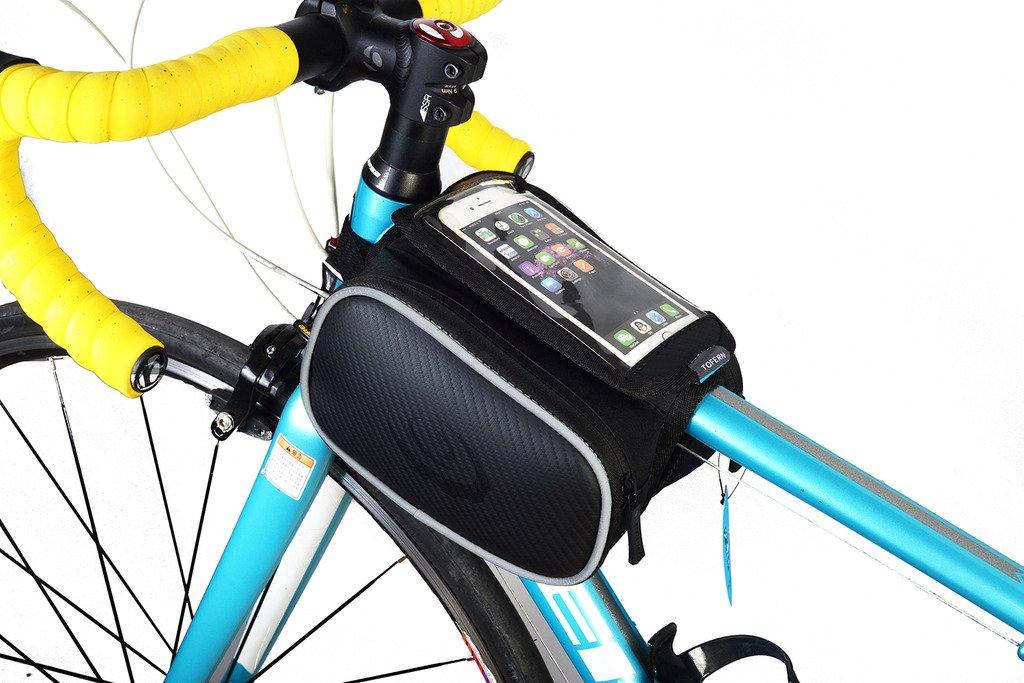 LoHai Radfahren | ROSWHEEL Radfahren Rahmentasche, Kopf ...