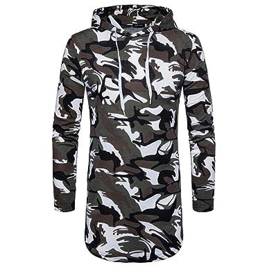 ... Moto Hombre Ropa Hombre Blusa Superior Camuflaje OtoñO Invierno Deportes Cardigan De AlgodóN Hombre Chaquetas Y Abrigos: Amazon.es: Ropa y accesorios